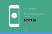 Flat Pomodoro