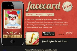 Facecard Christmas Edition