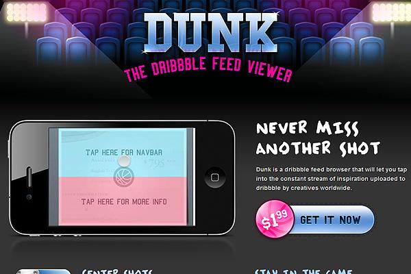 Dunk app 酷站