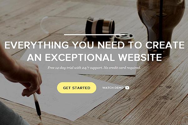 Squarespace网站,网站欣赏,简洁网站