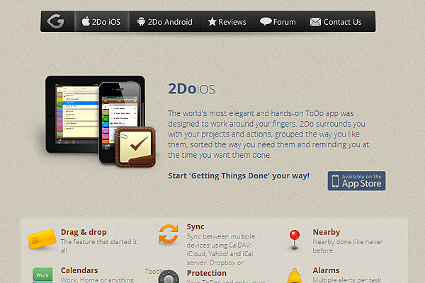 2Do: Tasks Done in Style