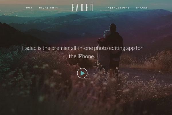 faded网站